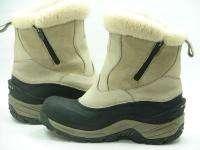 NORTHFACE Greenland Zip Waterproof Fleece Winter Snow Boots Womens 9 M