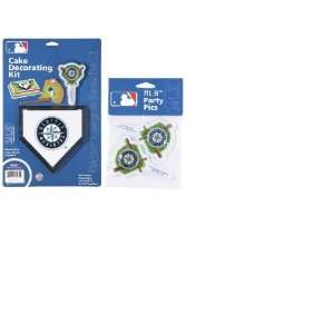 MLB Seattle Mariners Layon Cake/Cupcake Decorations