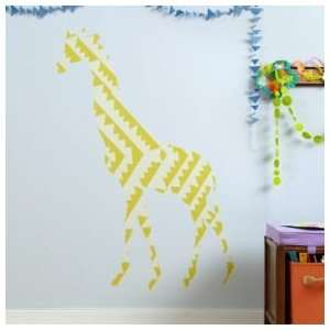 Kids Room Décor Colorful Large Giraffe Wall Decals, Lrg