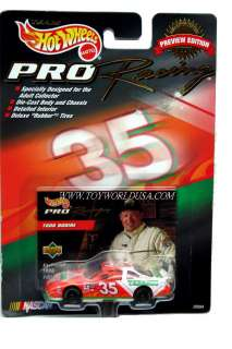 Hot Wheels PRO Racing #35~ TABASCO ~ Todd Bodine