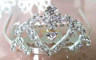 Wholesale6pcs Noble Prom/Bridal Rhinestone TIARA Crowns
