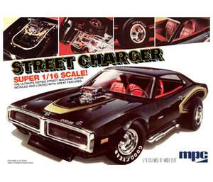mpc 768 1/16 70s Dodge Charger Street Charger   LIMITED PRODUCTION
