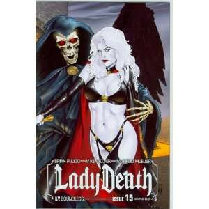 Lady Death Ongoing #15 Wraparound Cover: Brian Pulido