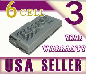 New 6 Cell Replacement Battery for Dell Inspiron 600M Latitude d600