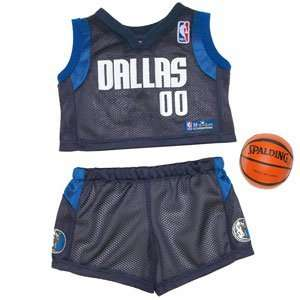 Build A Bear Workshop Dallas Mavericks Uniform 3 pc. Toys & Games