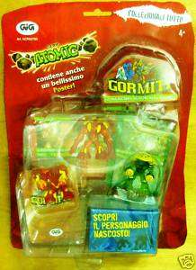 GORMITI ATOMIC series mint on card New