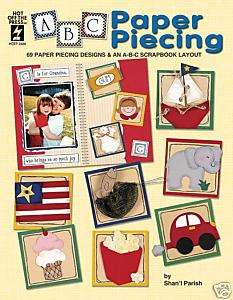 ABC PAPER PIECING Scrapbooking Page Layout Idea Book