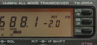 Kenwood TM 255A 2 Meter All Mode Transceiver