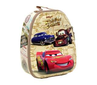 Disney Cars Mcqueen Mater Kids Backpack Lunch Box Bag