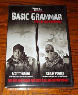 BASIC BAD GRAMMER GRAMMAR HUNTING GOOSE CALL VIDEO DVD 707541207591