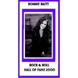 Bonnie Raitt Rock & Roll Hall of Fame Class of 2000 Bonnie