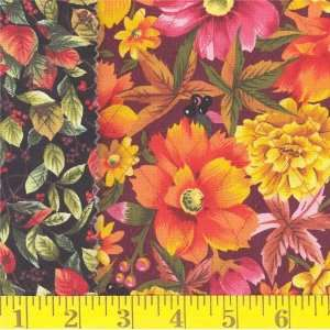 Quilting Harvest Bouquet Fabric By The Yard Arts, Crafts & Sewing