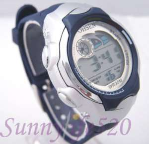 Fashion Digital Water Proof Boy Girl Child Sports Watch