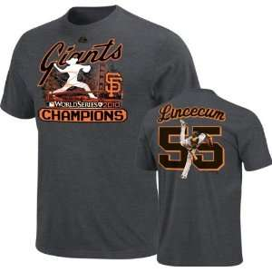 Tim Lincecum San Francisco Giants Majestic Player Designed