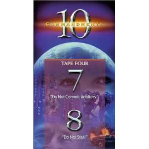 Ten Commandments 7 & 8 [VHS] Adrian Snell Movies & TV