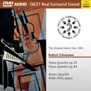 The Auryn Series Vol. XXV: Schumann Piano Quartet & Quintet