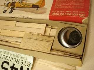 STERLING STEARMAN PT 17 RADIO CONTROLLED MODEL AIRPLANE KIT