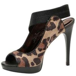 NIB Carlos Santana HALO Platform Heels Pumps Sandal Leopard Unique