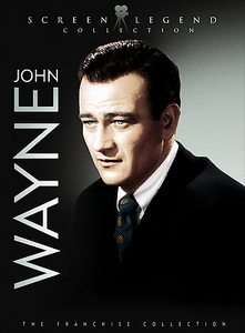 John Wayne Screen Legend Collection DVD, 2007, 3 Disc Set