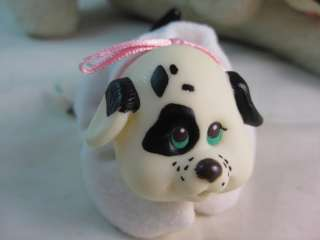 SURPRISE HASBRO VINTAGE 1990s COLLECTABLE PLUSH DOG TOY WITH ONE BABY