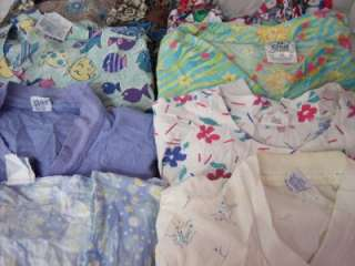 Medical Dental Scrubs Lot of 8 Scrub Jackets Coats Size LARGE CREST