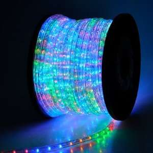 LED Rope Light 150ft Multi Color w/ Connector: Patio, Lawn & Garden