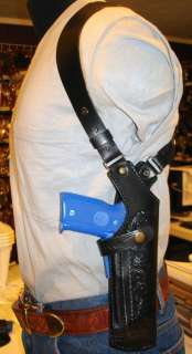 LEATHER SHOULDER HOLSTER 4 PARA ORDNANCE LDA & 1911