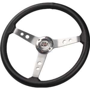 G Force 4754 17 Aluminum Steering Wheel W/1.5 Dish