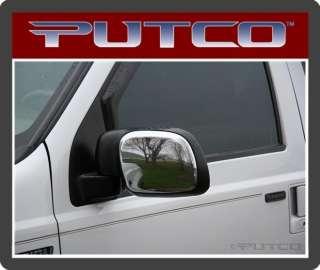 401116 Putco Chrome Mirror Cover Ford Super Duty 99 07