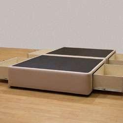 Tiffany 4 drawer Full Platform Bed/ Storage Mattress Box