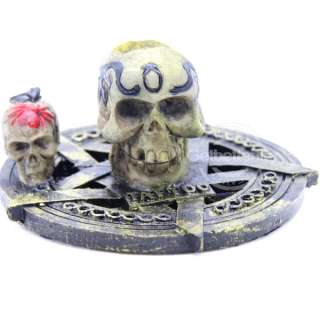 New SKULL Tattoo Machine Gun Stand Holder Supply