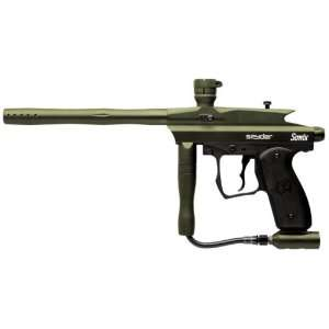 2012 Sonix w/ E Frame Paintball Gun Marker   Olive: Sports & Outdoors