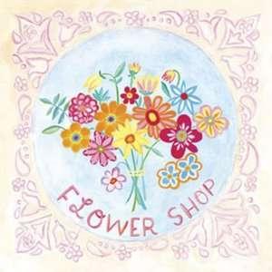 Bouquet   Flower Shop Canvas Reproduction