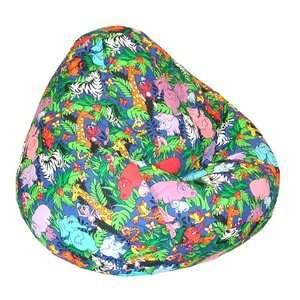 Prints Collection Large Bean Bag  Jungle Animals Kids & Teen Rooms