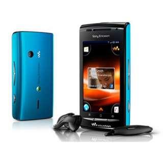 Sony Ericsson W8 GSM Unlocked Blue Cell Phone