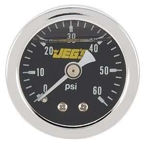 JEGS Performance Products 41012 Fuel Pressure Gauge (Black