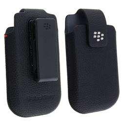 BlackBerry OEM Torch 9800 Leather Swivel Holster