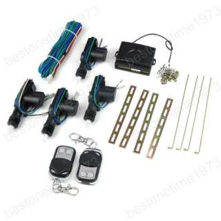 Universal Auto Car Power 2/4 Door Central Entry Lock System + 2 Remote