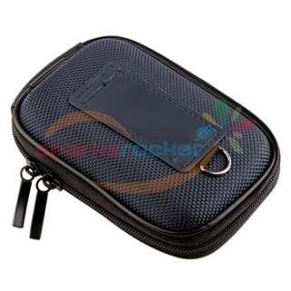Pouch Bag Case+Silver Mini Tripod For Canon Panasonic Fuji Sony