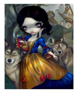 Loup Garou: Blanche Neige Giclee Print by Jasmine Becket Griffith at