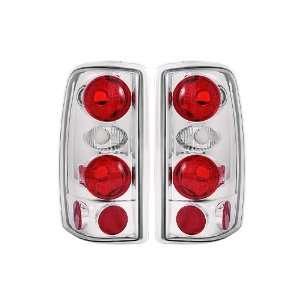 Anzo USA 211008 Chevrolet/GMC Chrome Tail Light Assembly