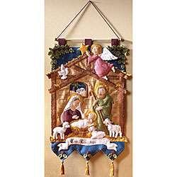 Nativity Scene Wall Hanging Felt Applique Kit
