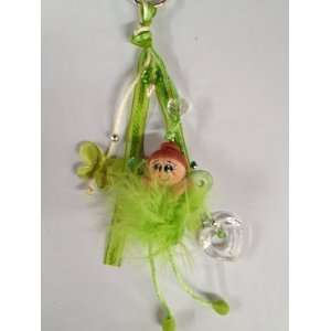 Fairy Keychain Party Favor Accessory Toy Bookmark Green: Toys & Games