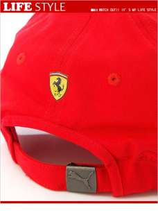 PUMA Ferrari LS Baseball Cap / Hat (55810802) Red in Asian Size