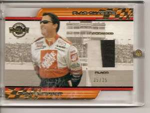 Tony Stewart 7 Card Flag Chasers Set Last Number Race Used Flags 2001