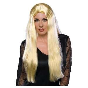Long Blonde Witch Wig Toys & Games