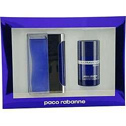 Paco Rabonne Ultraviolet Mens 2 piece Fragrance Set