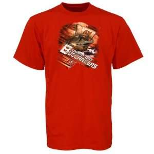 Tampa Bay Buccaneers Red Team Fanatic T shirt Sports