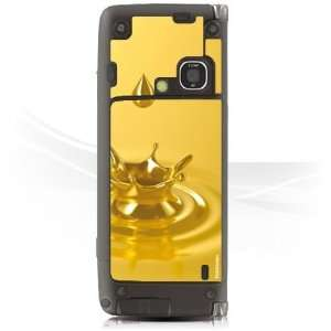 Design Skins for Nokia E90   Gold Crown Design Folie Electronics