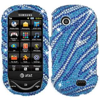 CRYSTAL BLING CASE COVER SAMSUNG SUNBURST 697 SILVER